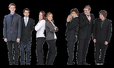 Team der Juniorfirma Webaxess